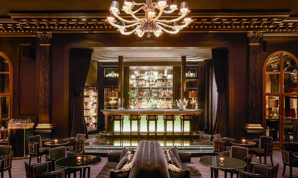 The amazing Beaufort Bar that stands upon the old cabaret stage - image credit: www.theupcoming.co.uk