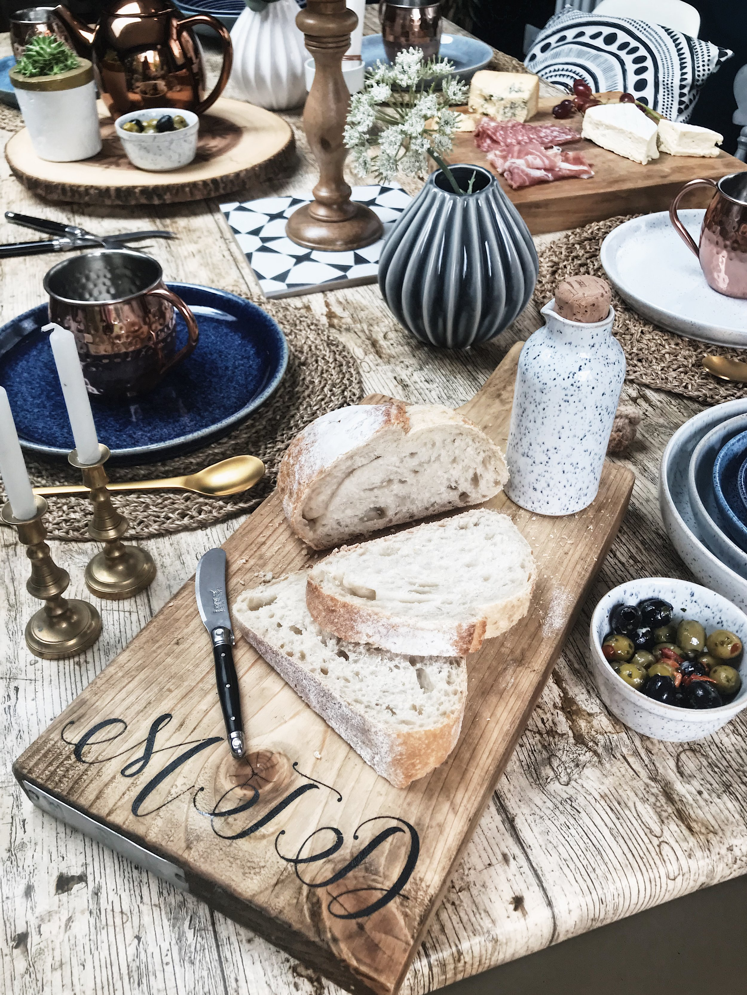 Serving boards are the perfect table accessory!