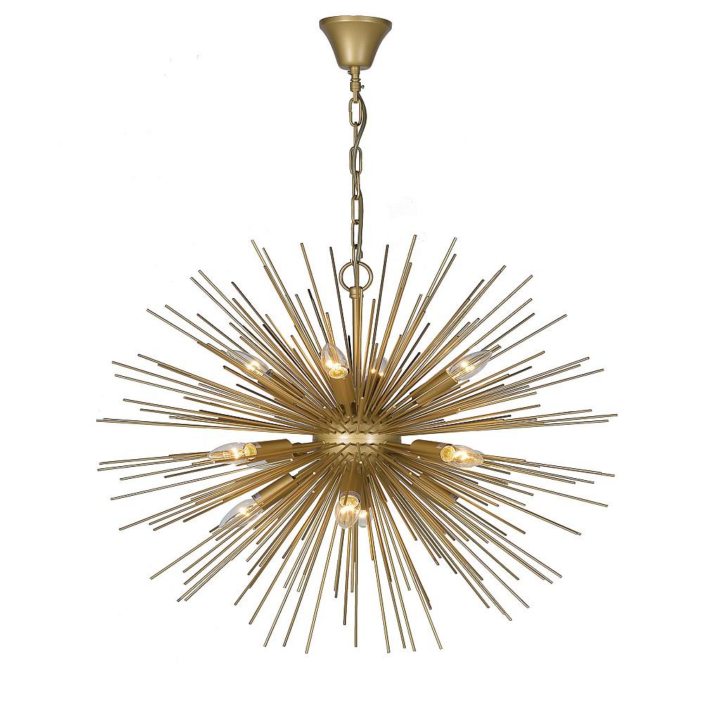 Audenza Gold Burst Ceiling Light