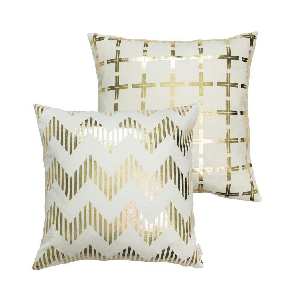 Penelope Hope Metallic Cushions