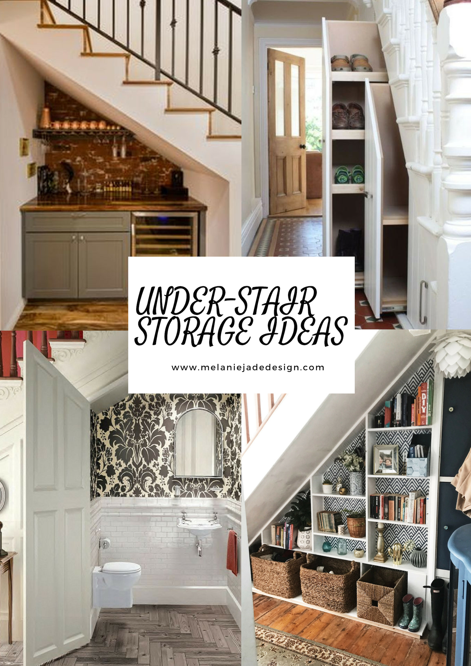 Under Stair Storage Ideas \u2014 Melanie Jade Design