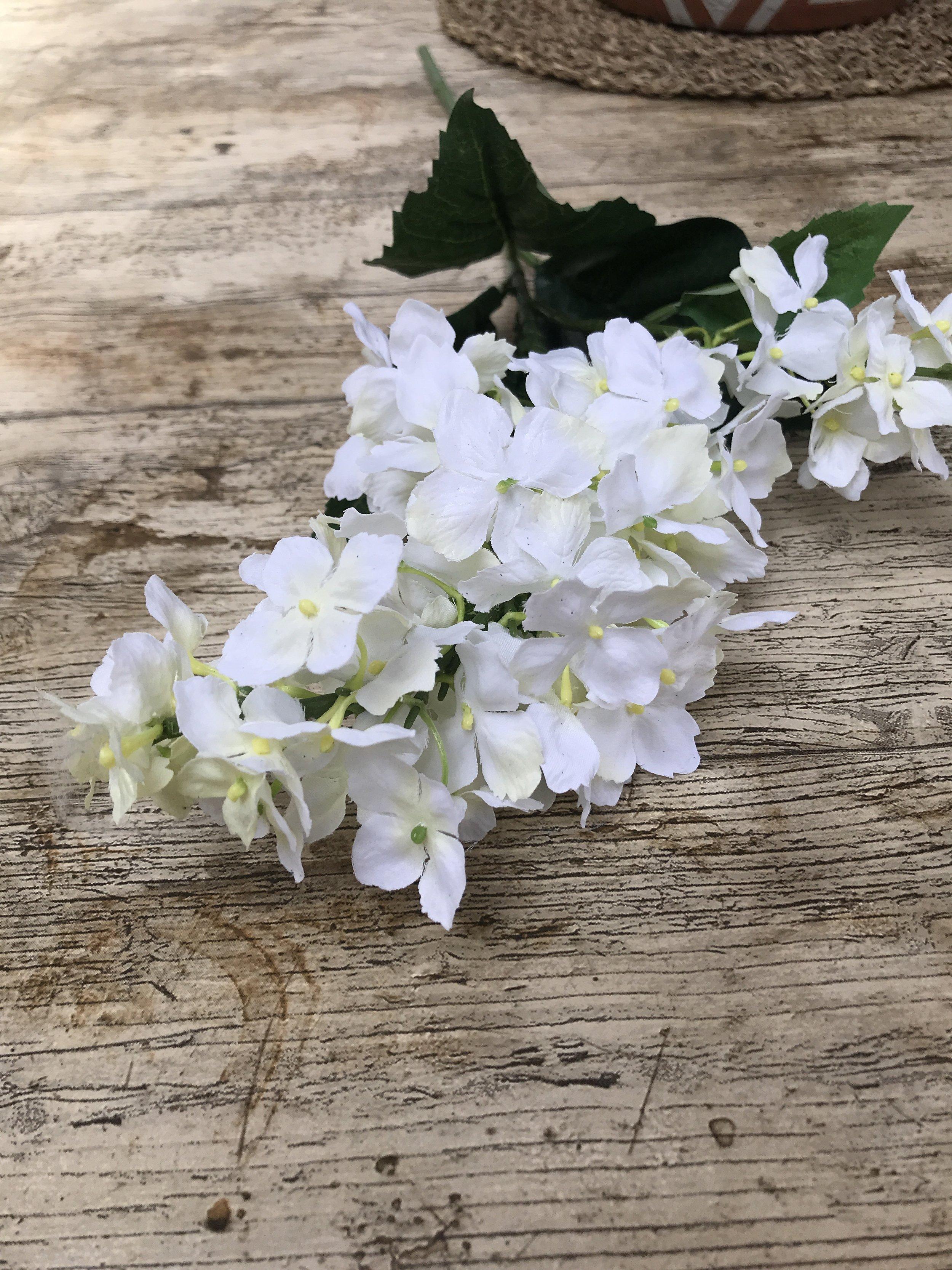 Artificial Cream Delphinium Flower