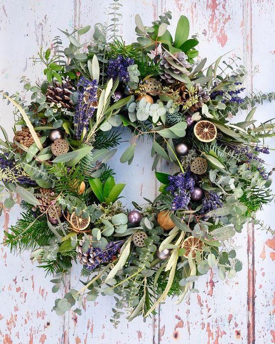 Stunning  Green Parlour  Wreath