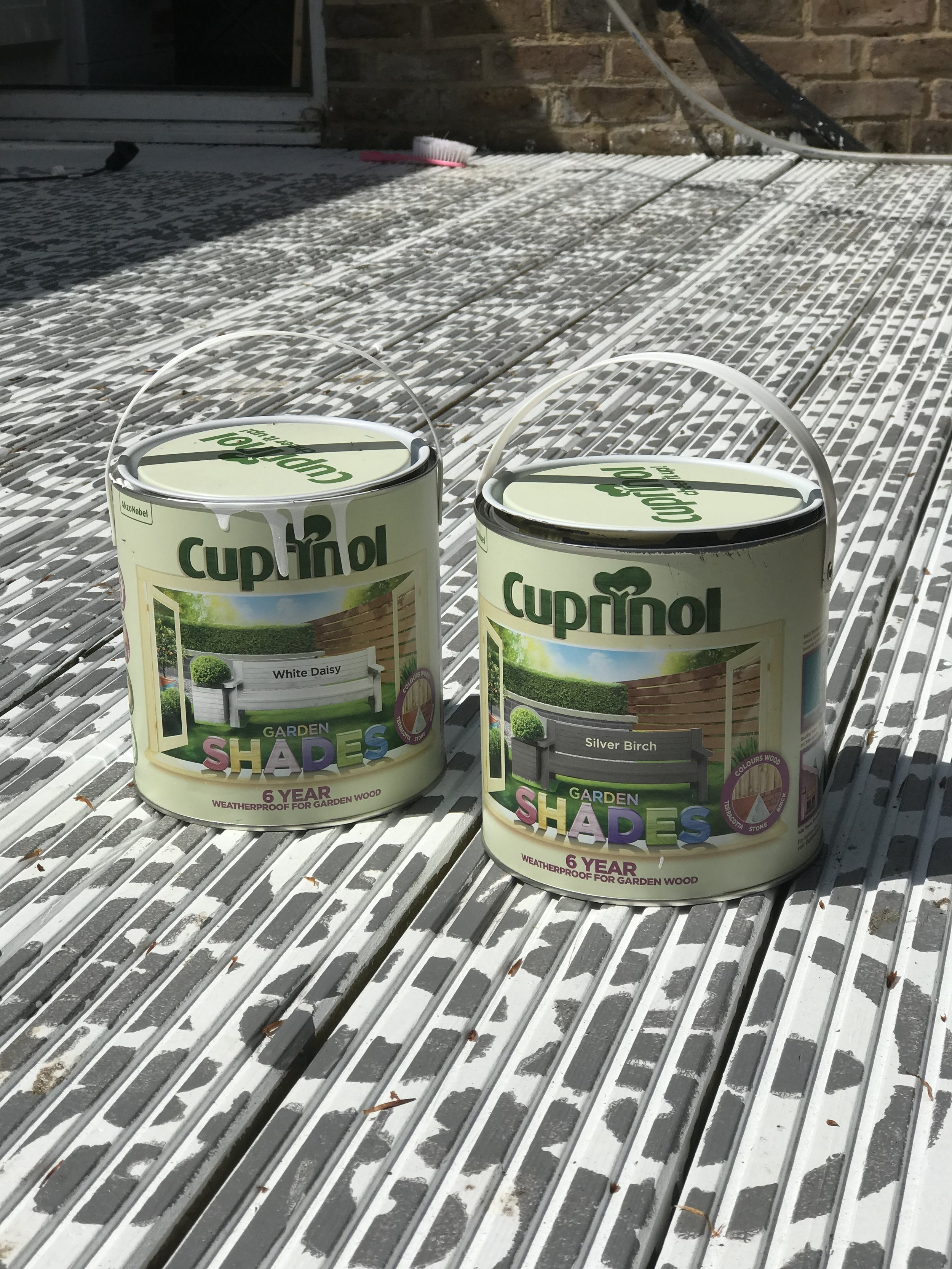 Cuprinol  have some great shades for your garden including Natures Neutrals and Natures Brights