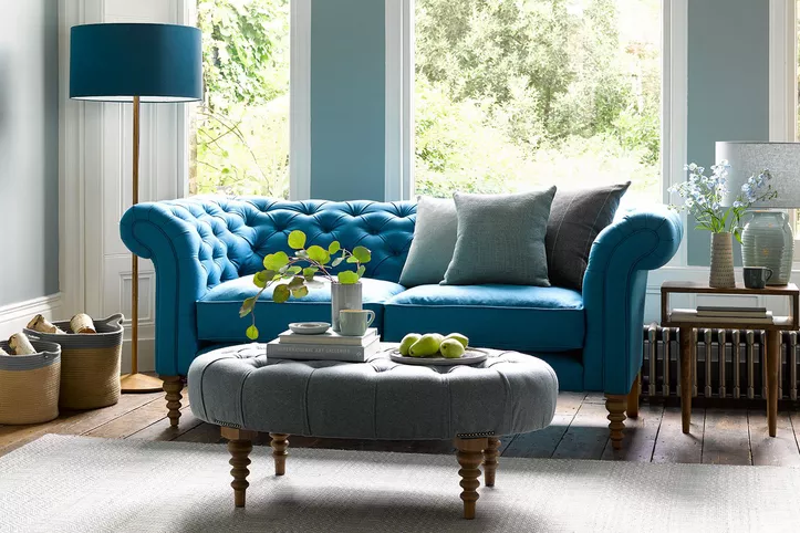 The  Oscar , a modern twist on a traditional classic sofa