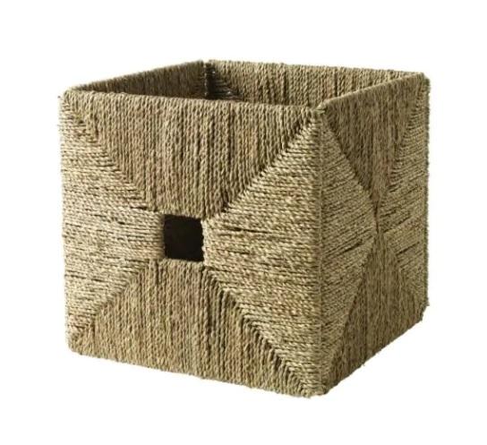 Ikea Seagrass Basket