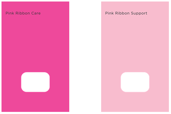 Pink Ribbon Care  and  Pink Ribbon Support