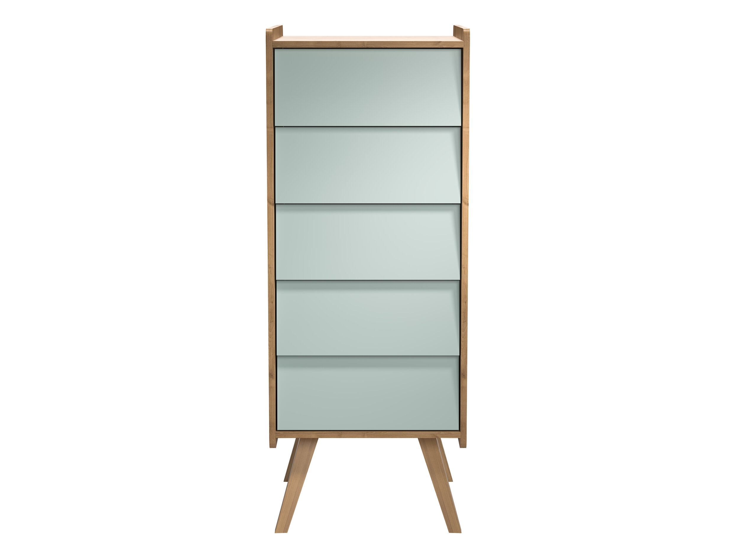 Cuckooland, Vox Vintange Tall Drawers in Green