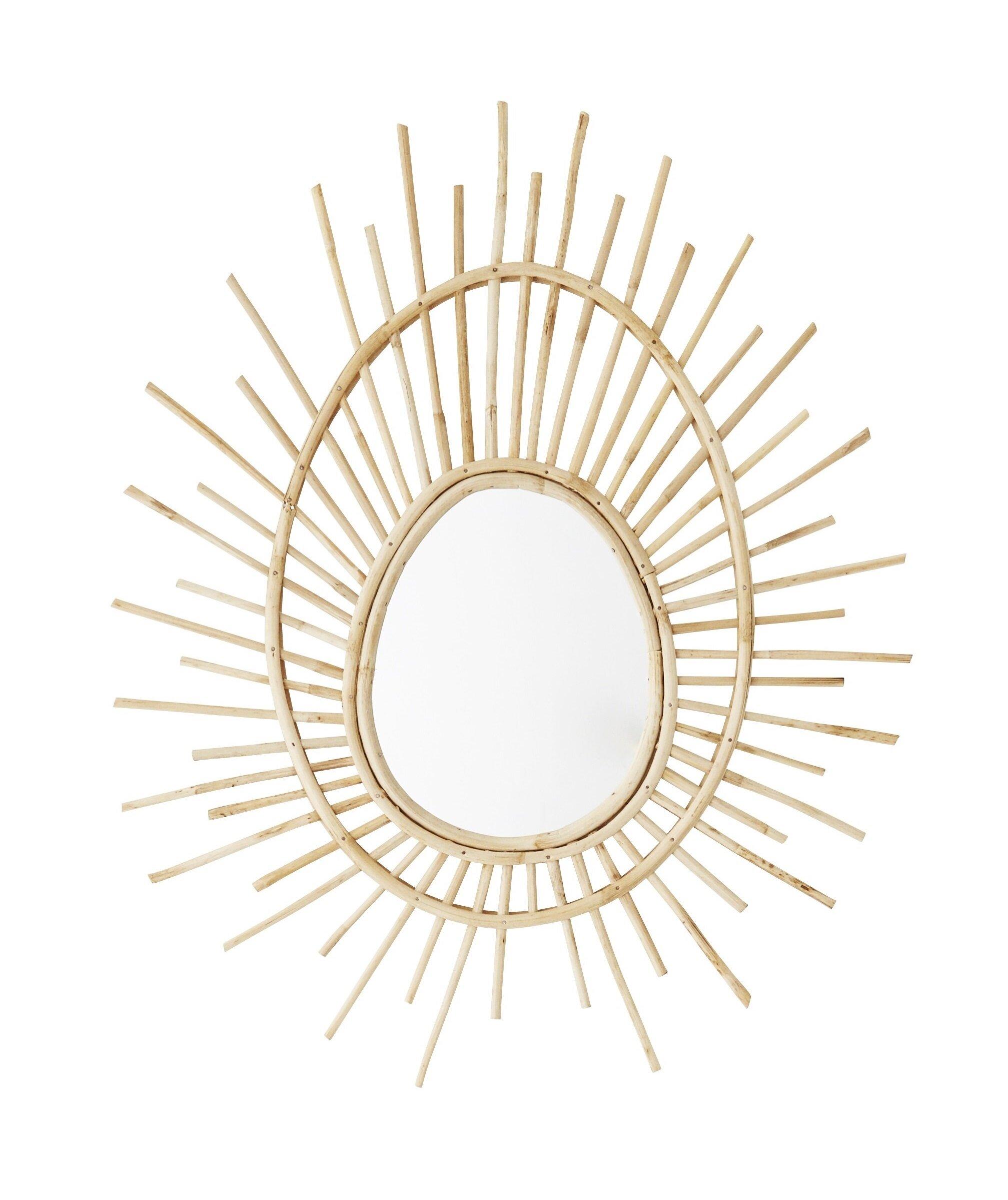 Abode Living - Bamboo Starburst Mirror