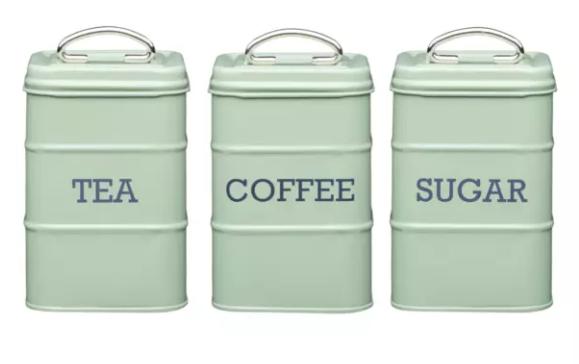 Silver Mushroom - Tea, Coffee & Sugar Set