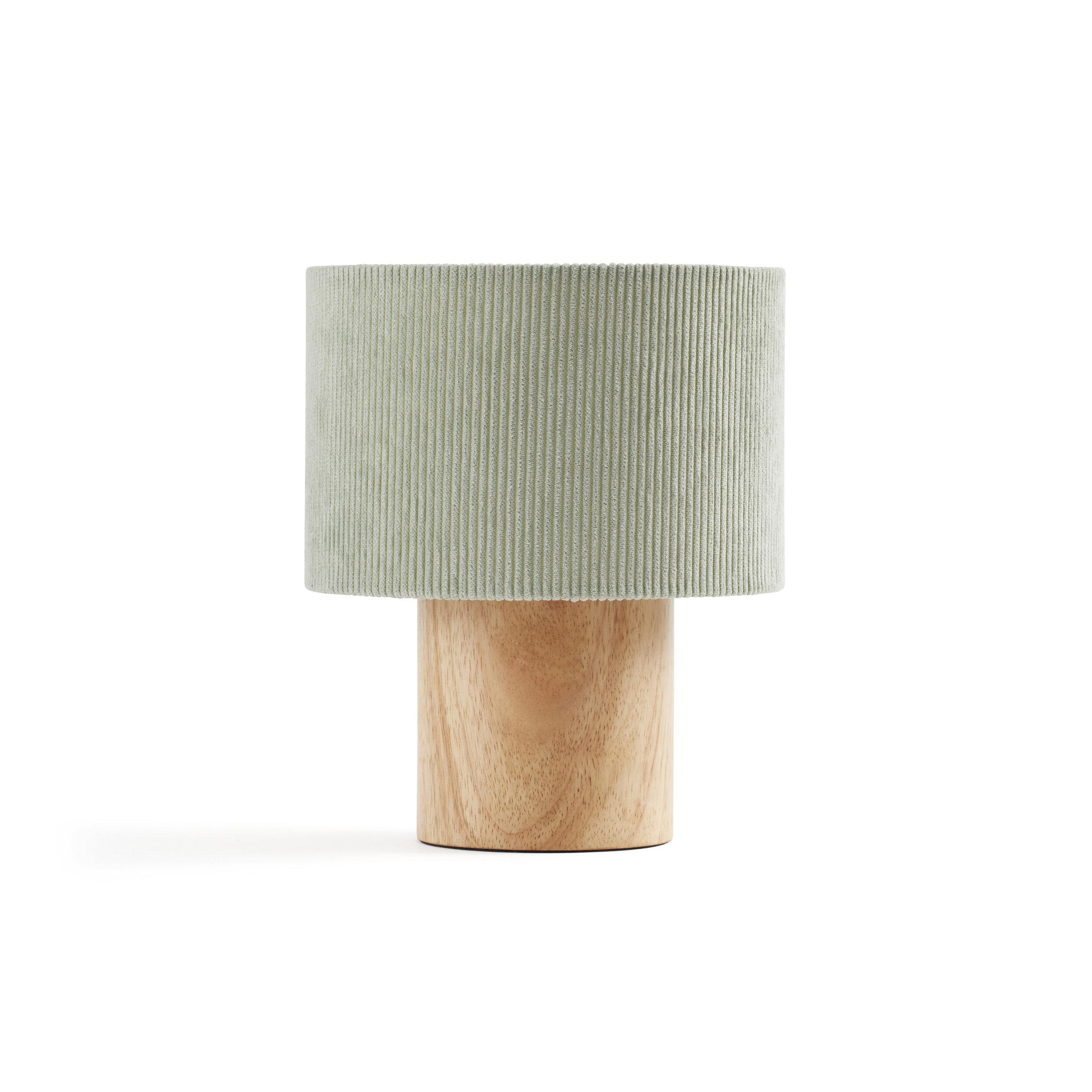 Cuckooland - Table Lamp Green Corduroy