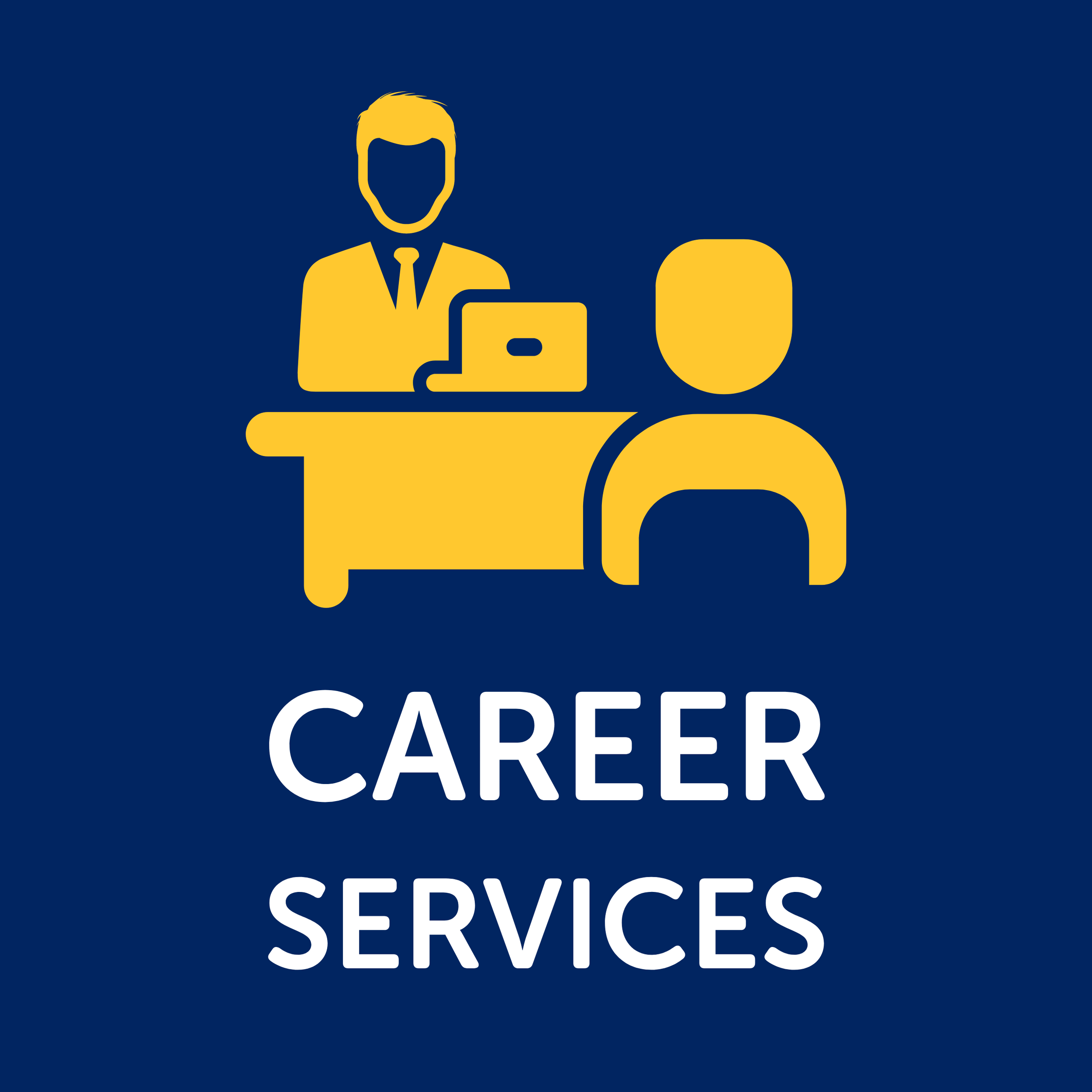Button for Career Services