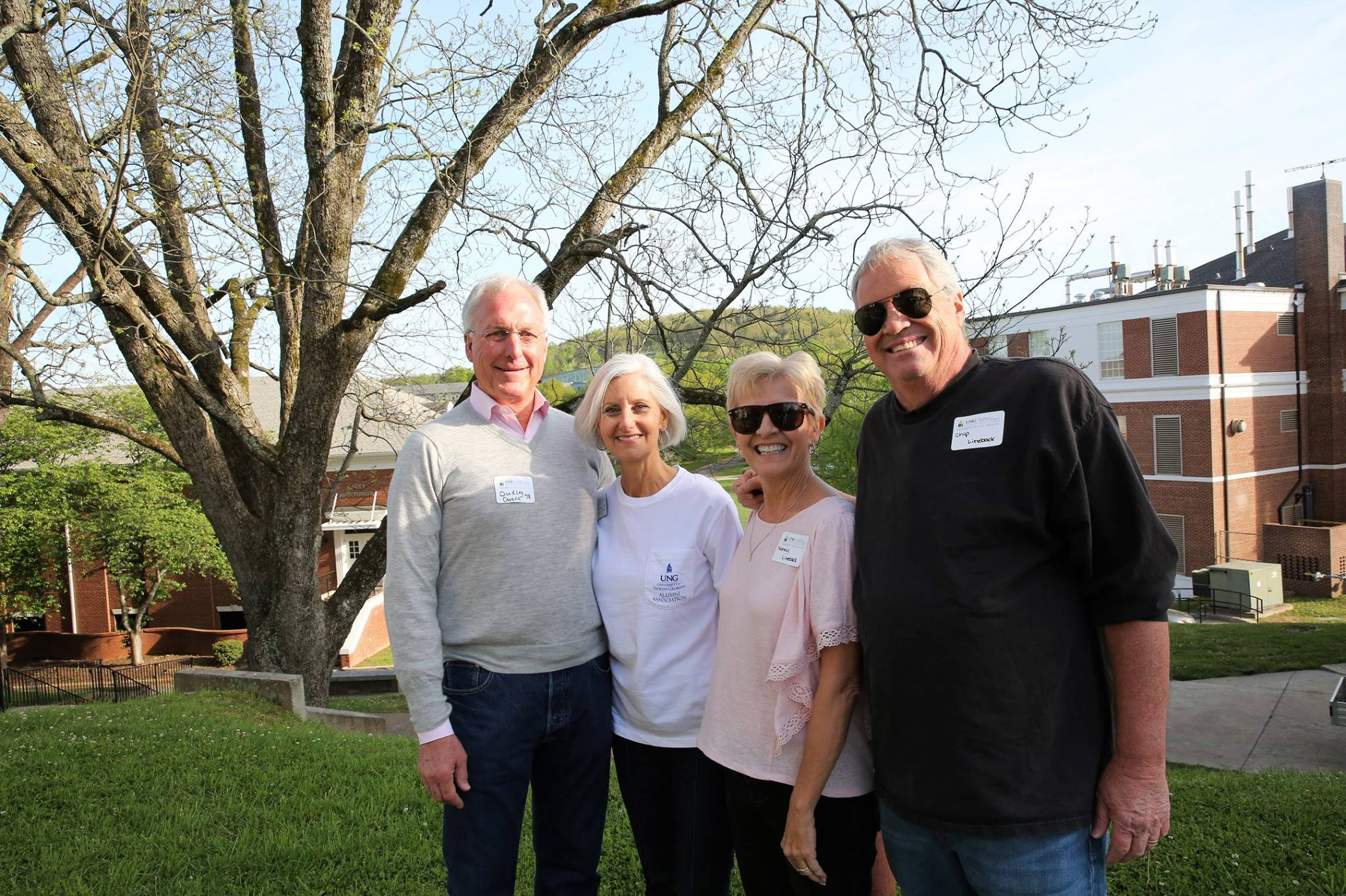 AW 2018 Mixer Dudley, Mary Owens and Nancy, Chip Lineback.jpg