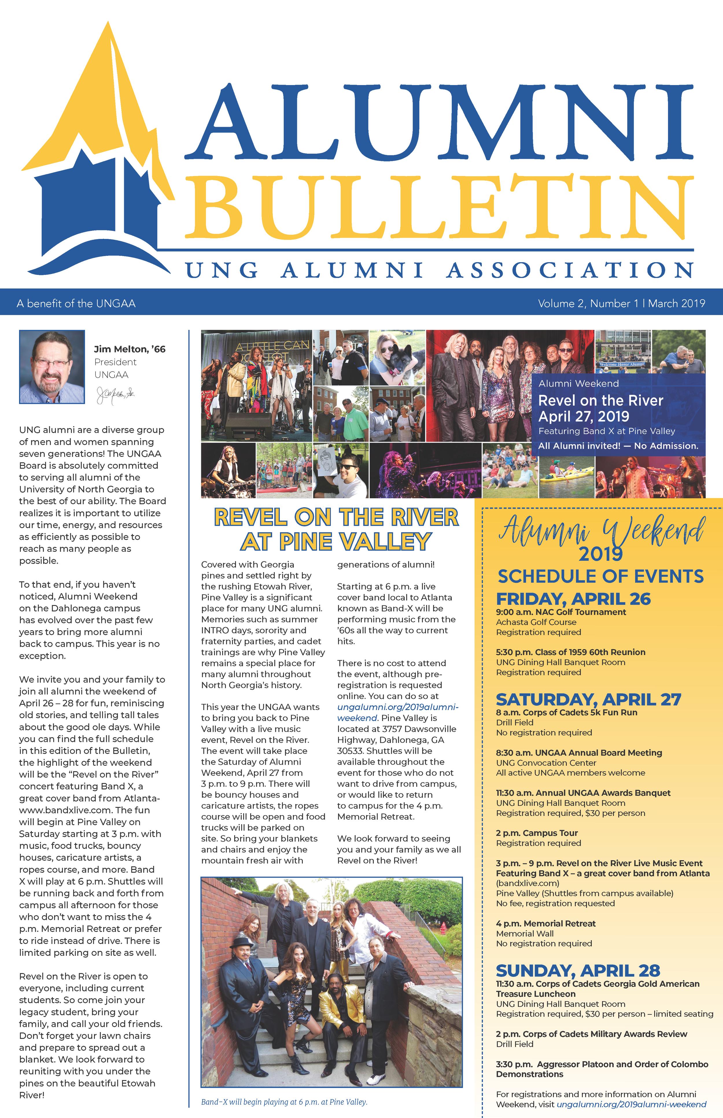 September Alumni Bulletin