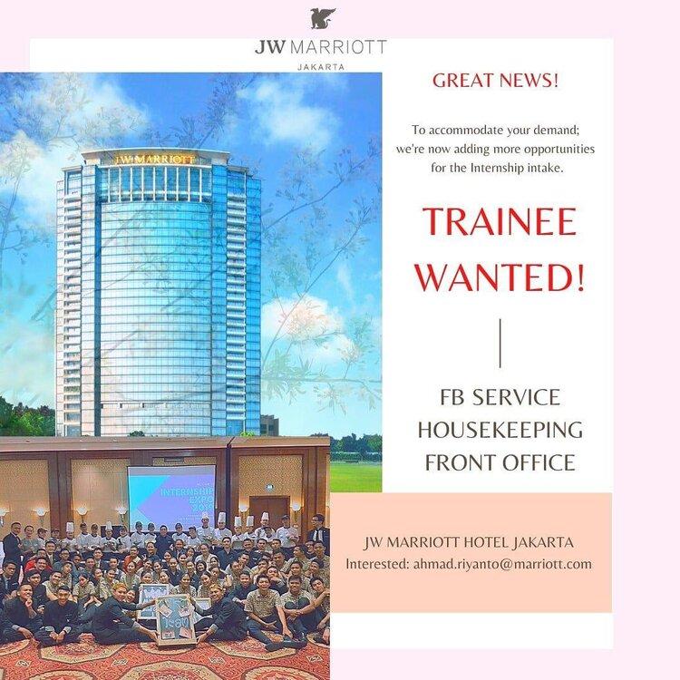 Jw Marriot Jakarta Jobs Www Hospemag Me