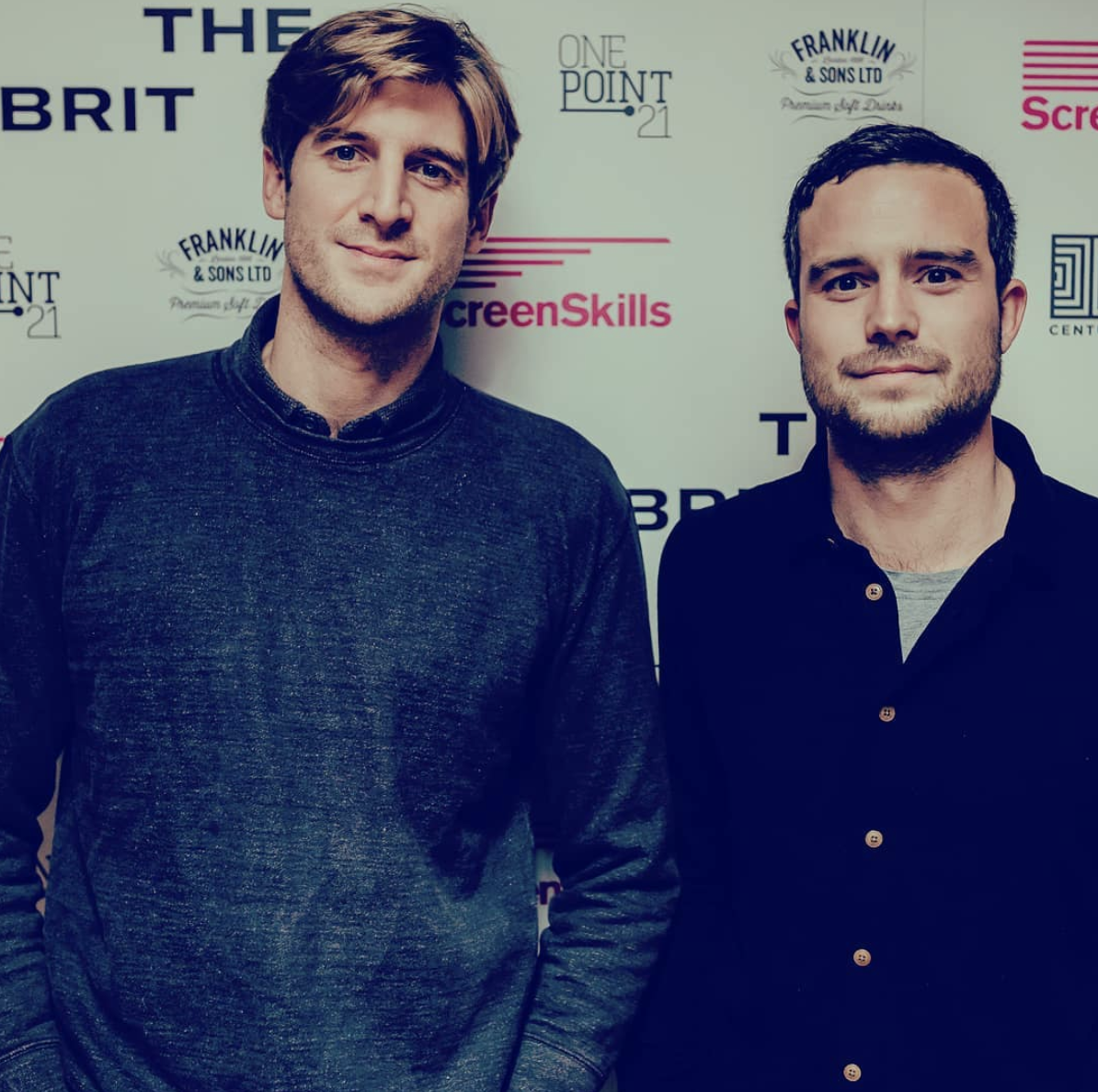Tom Stourton and Tom Palmer at The Brit List 2018