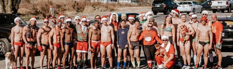 Santa Speedo Run - 2017