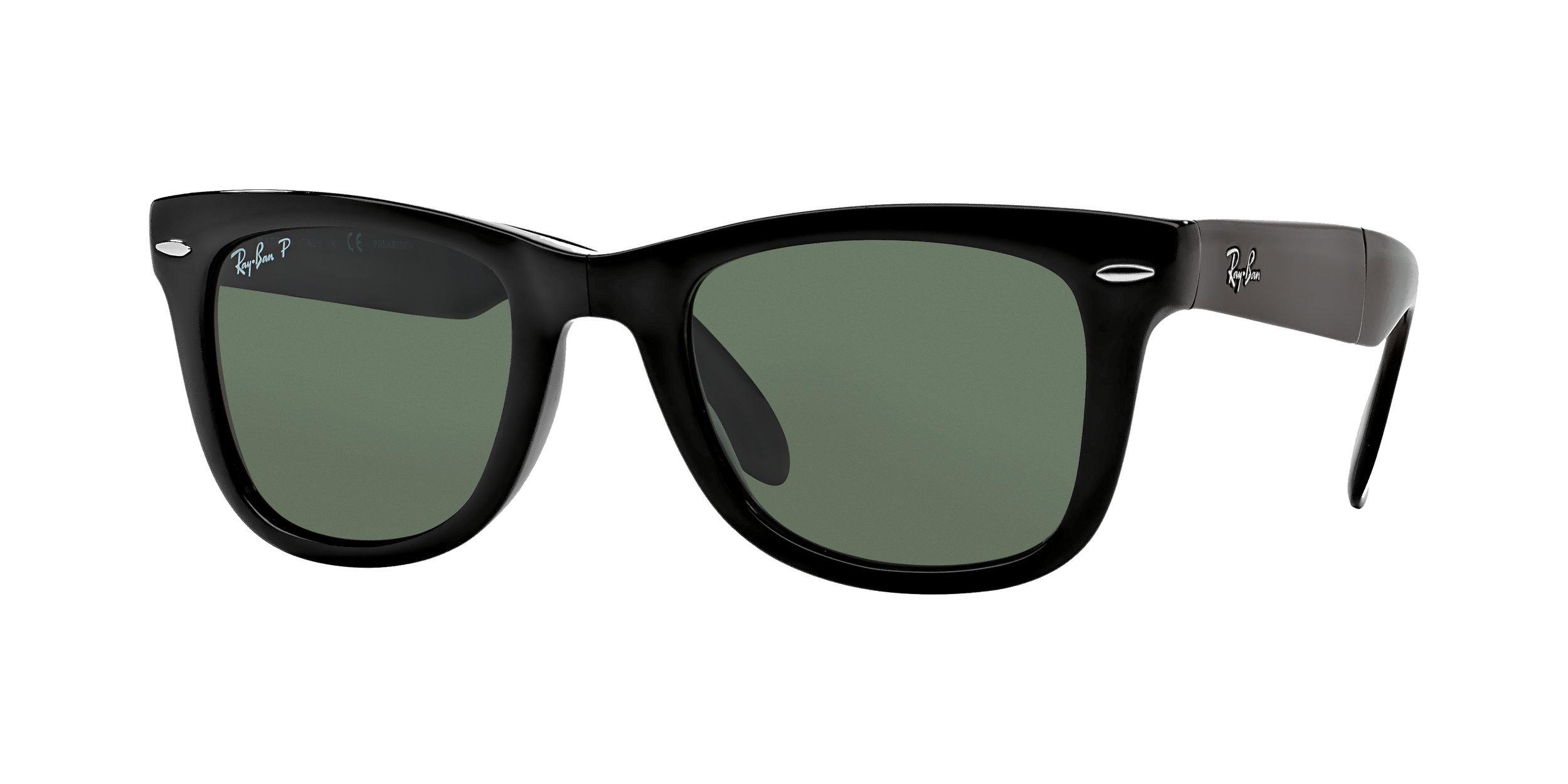 0RB4105_601_5850_Wayfarer Classic Folding_Black_Polarized Green Classic G-15.jpg