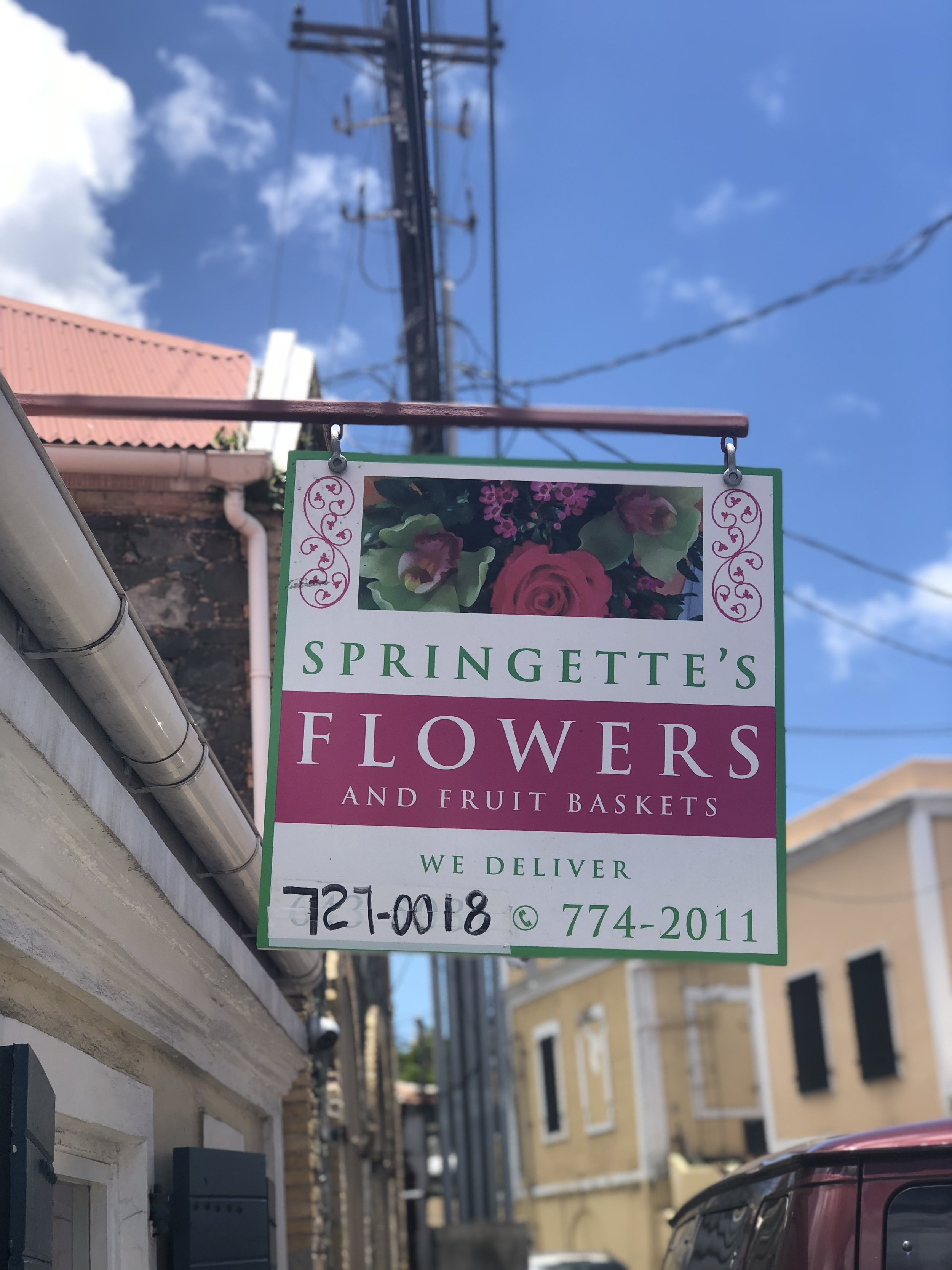 Flower Shop in St. Thomas