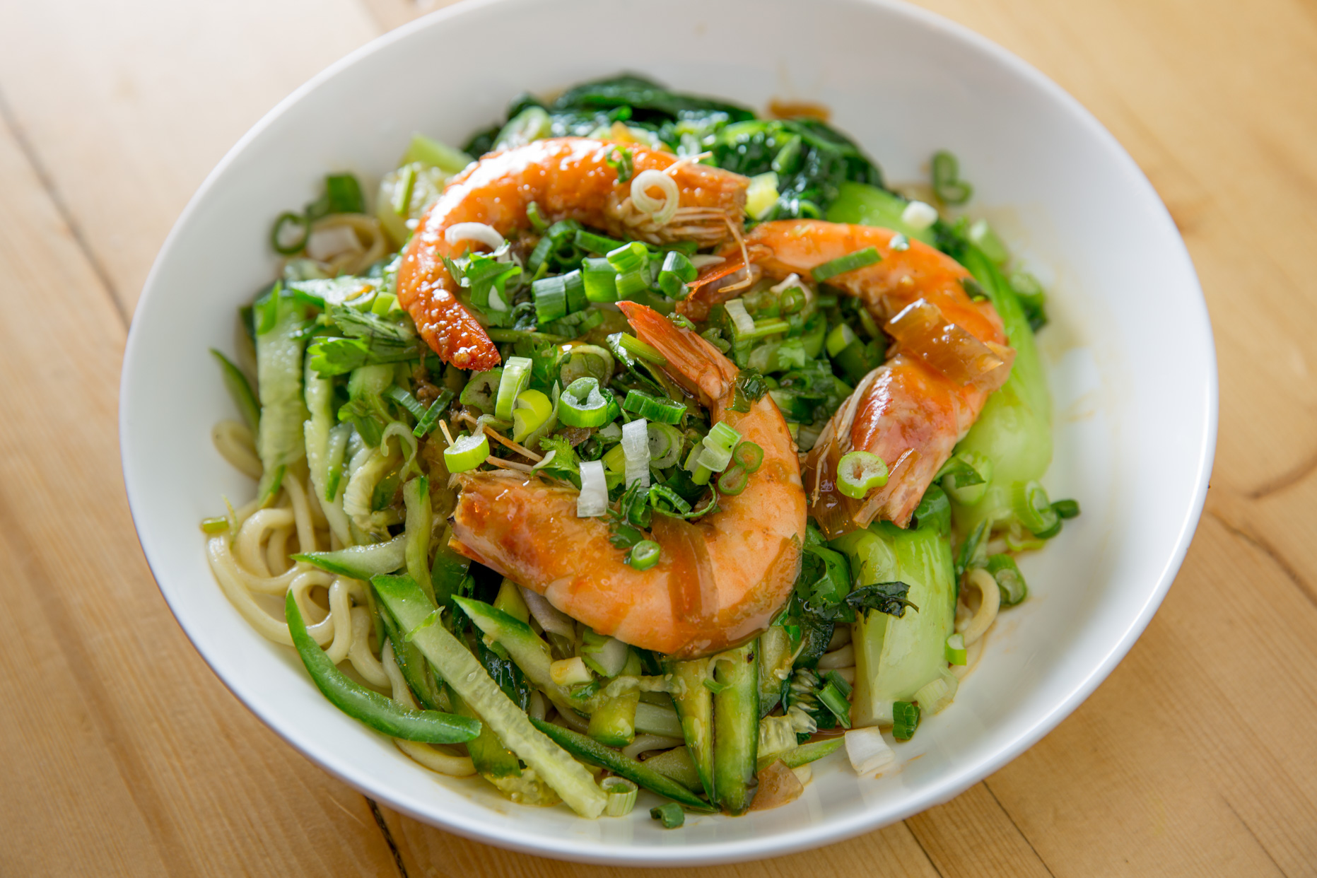 Scallion Noodles