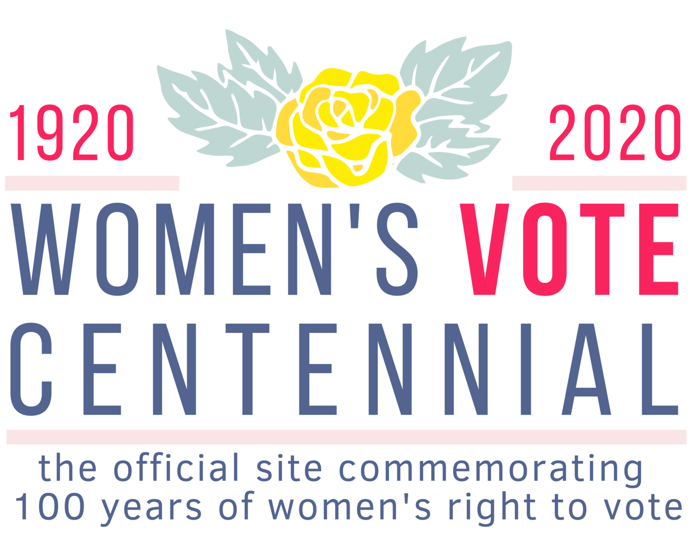 Women's Suffrage Centennial Commission Logo