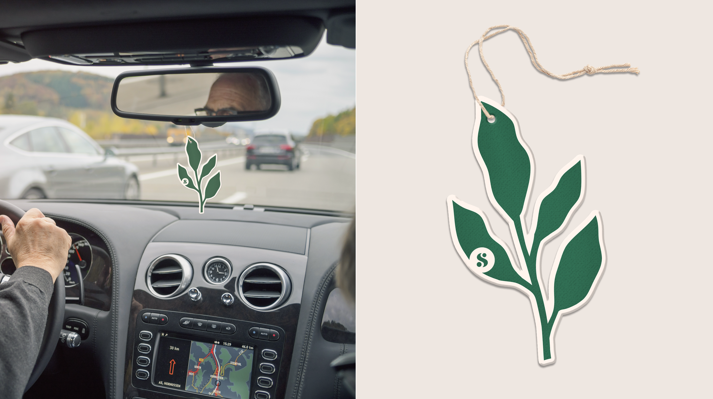 The clary sage plant is an aphrodisiac, so with these air fresheners, love is in the air wherever you go.
