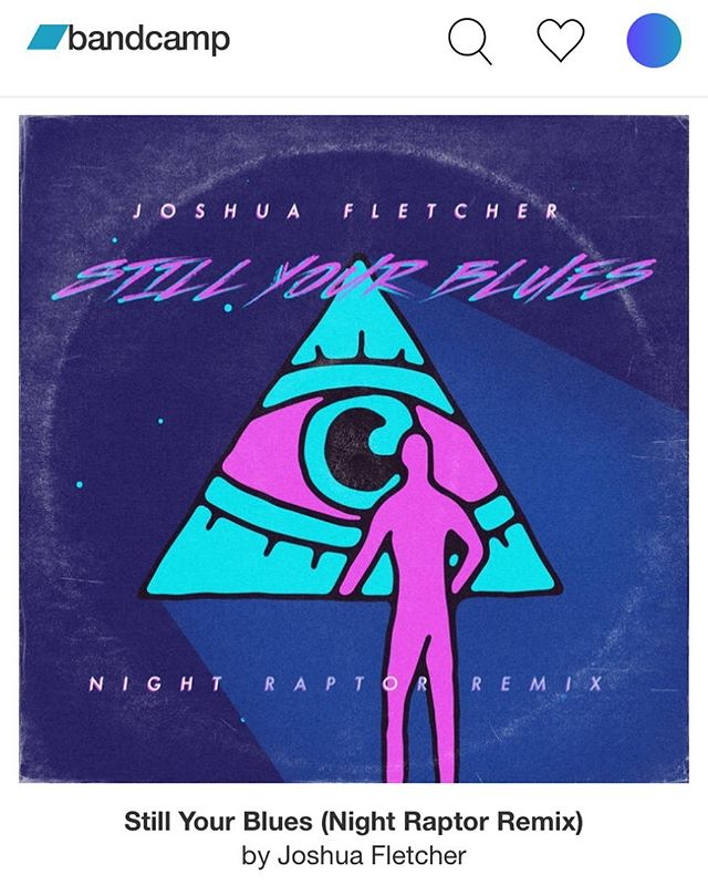 If you like my songs but also like synthesizers and have thought about buying a jacket with a scorpion on it, this jam is for you. Remixed by the brilliant @nightraptormusic. Available now on @bandcamp - Friday everywhere else. #remix #synthwave