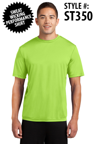 PERFORMANCE TEE - [CLICK HER FOR MORE COLORS AND INFO]