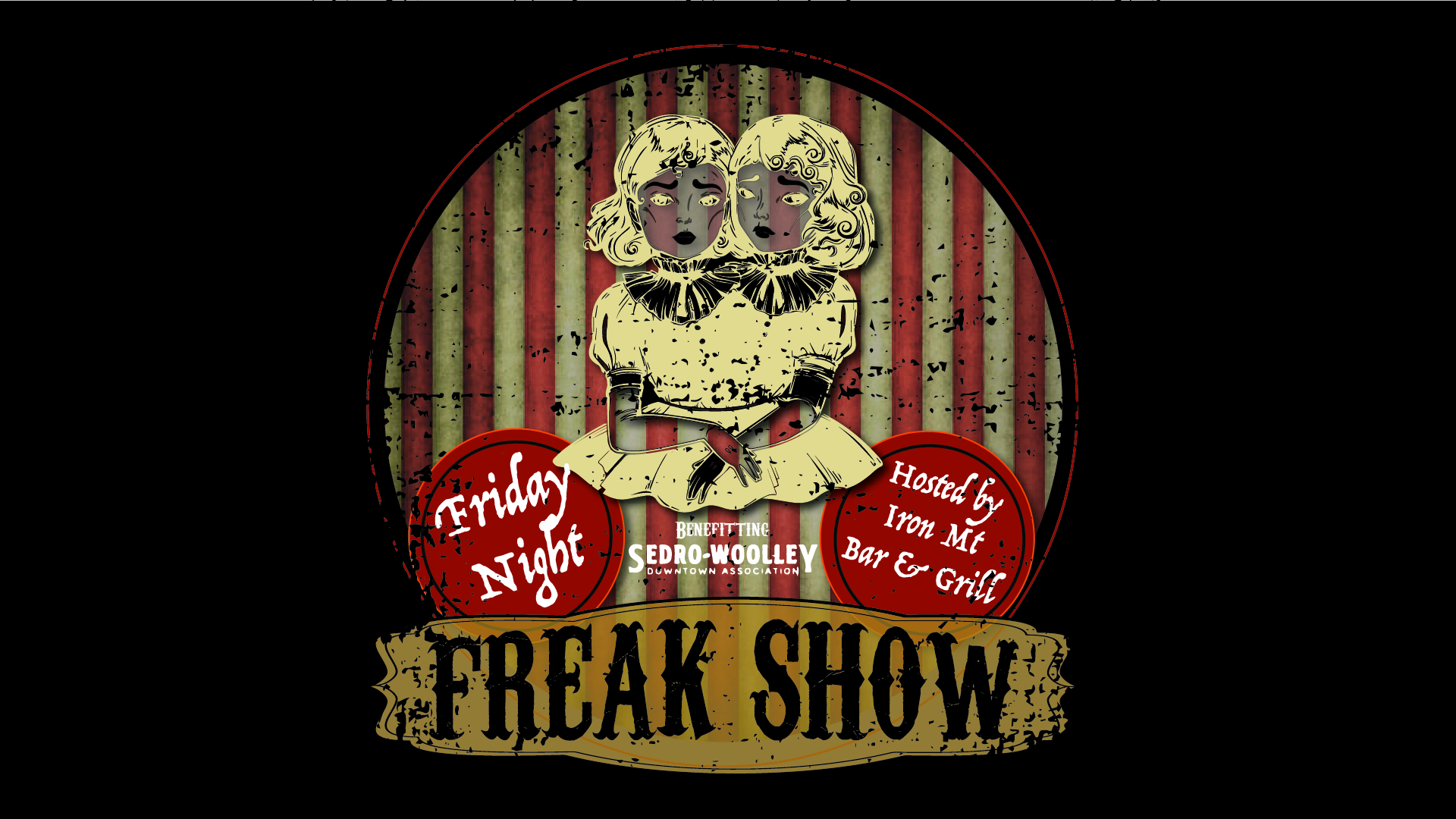 Get Tickets Here:   https://www.eventbrite.com/e/friday-night-freakshow-tickets-58380170662