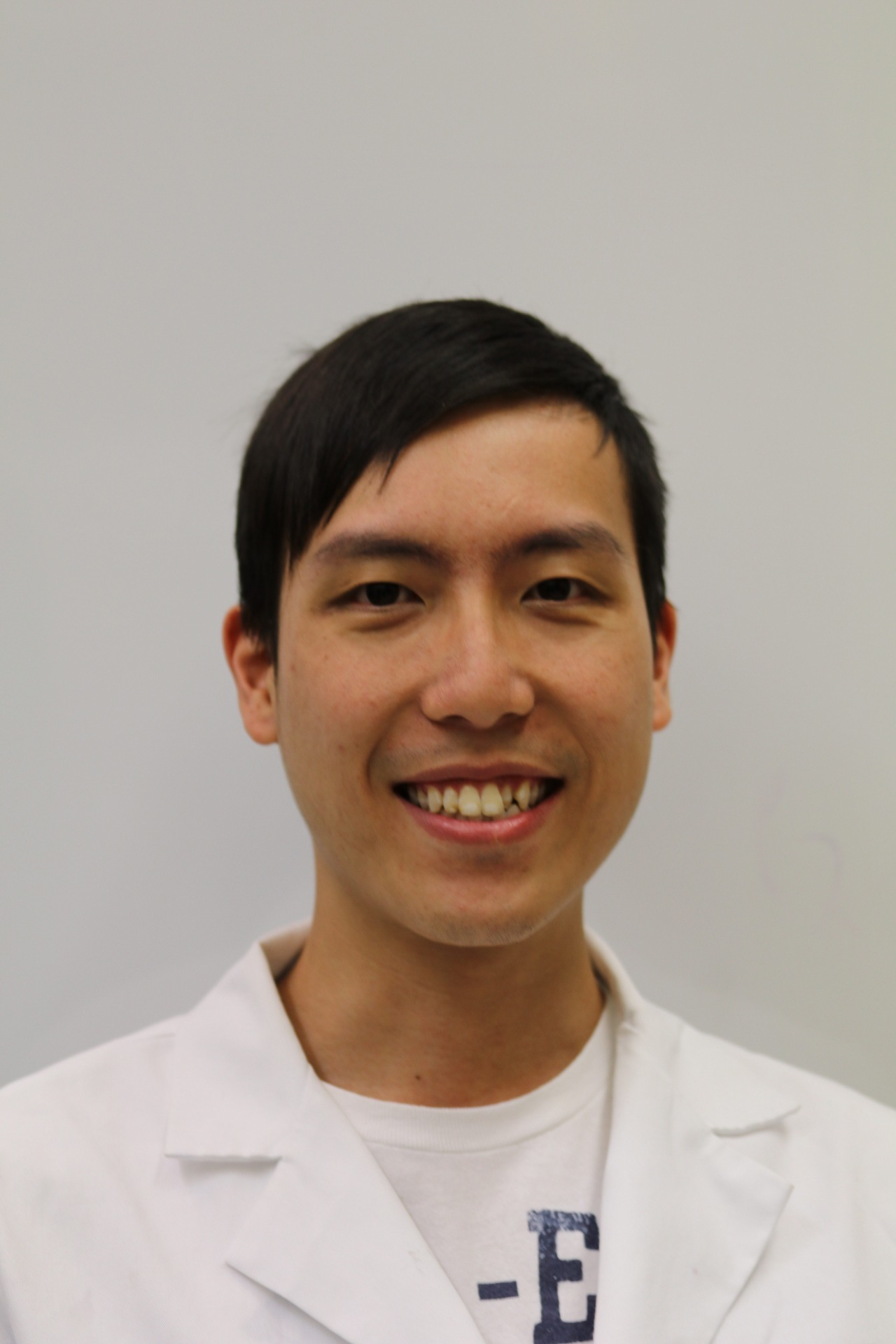 Vincent Mui   B.S. Applied Chemistry (City University of Hong Kong) 2013. M.Phil in Chemistry (The Graduate Center, CUNY) 2018.  Vincent is an M.Phil graduate at The Graduate Center, CUNY, from the inorganic sub-discipline. He joined Prof. Burton-Pye's group in April 2018 working on luminescent nanomaterials.   Current research:  Functionalization of persistent luminescent nanoparticles with lanthanide complexes as a novel imaging agents.   Previous research:  Catalytic conversion of polysaccharide in food waste to platform molecules. Medicinal applications of organometallic gold compounds.