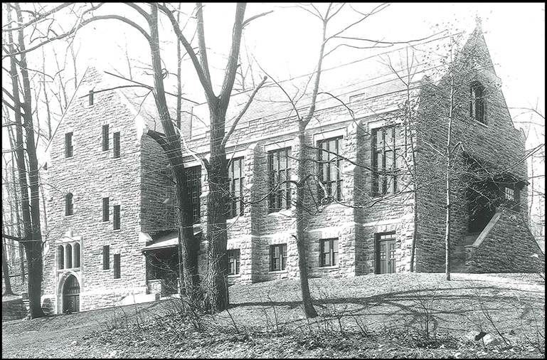 historic parish hall in 1912