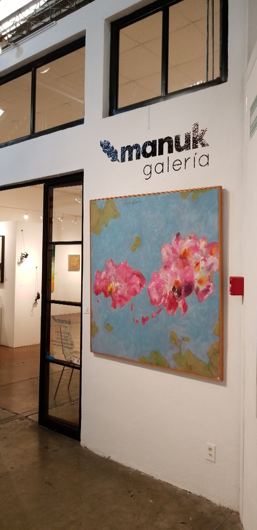 The artist/owner of Manuk, Lourdes Rivera, is a lovely woman with an open heart.