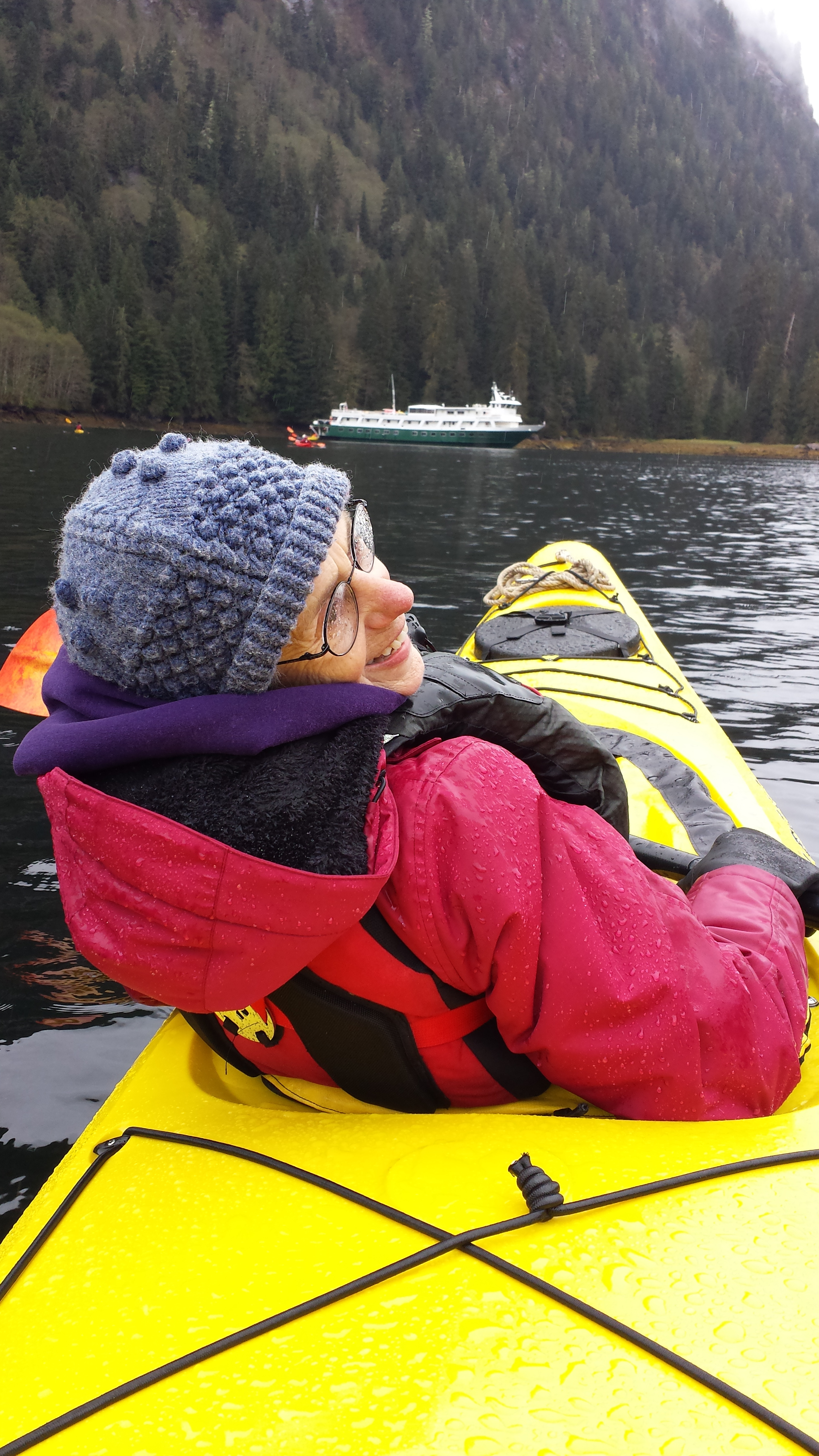 Sea kayaking with my mom and Uncruise - best way to see the Inside Passage!