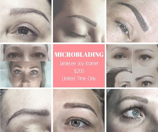 ���LIMITED TIME ONLY! ��� $200 MICROBLADING W/ JamieLee!  OFFER VALID THROUGH THE END OF JULY CALL TODAY BEFORE APPOINTMENTS FILL UP! . . . . #rejuvenationplace #microblading #browsonfleek