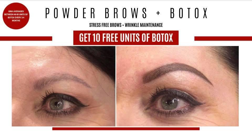 Powder Brow + Botox Special