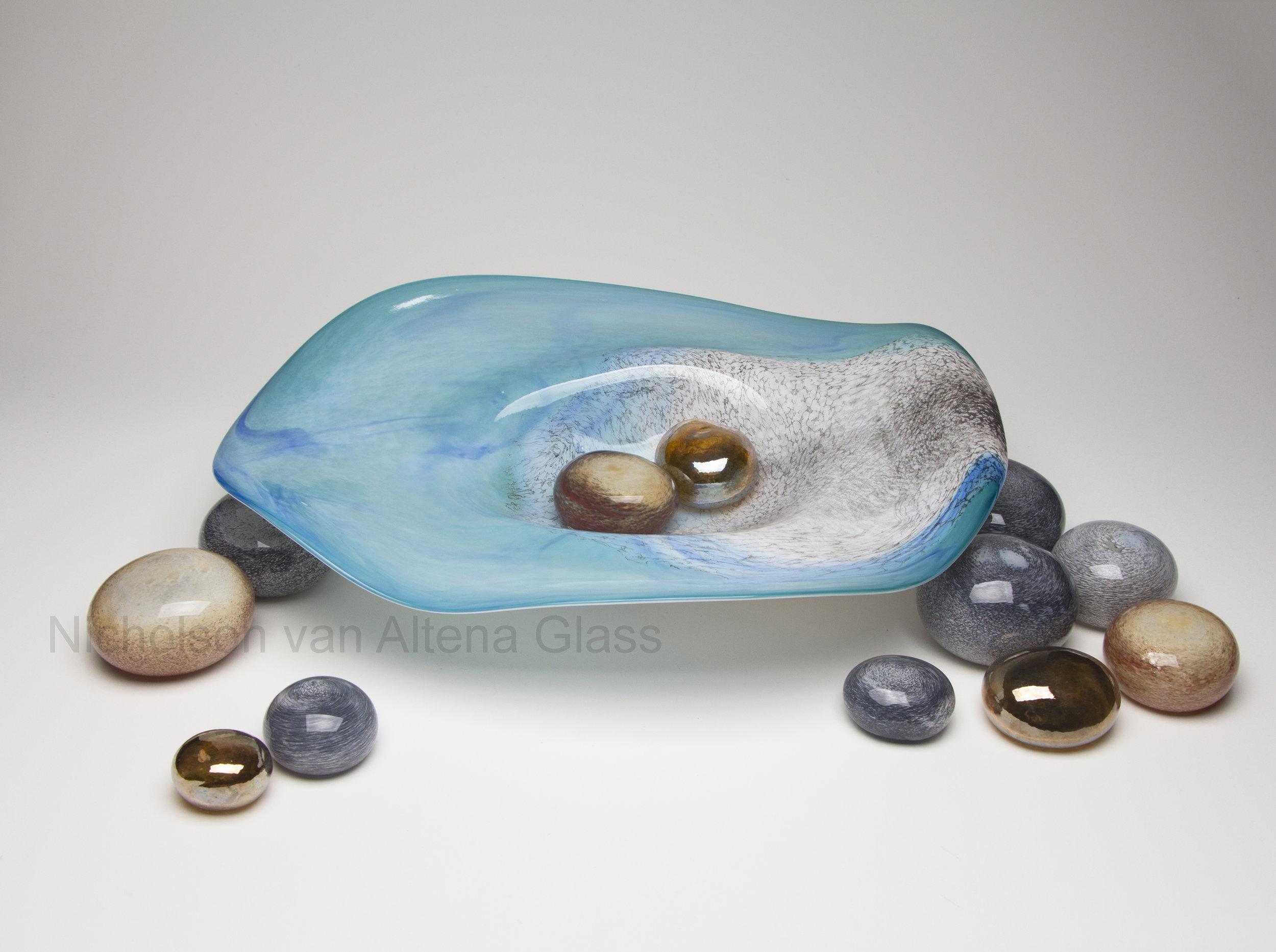Tributary Bowl & Stones