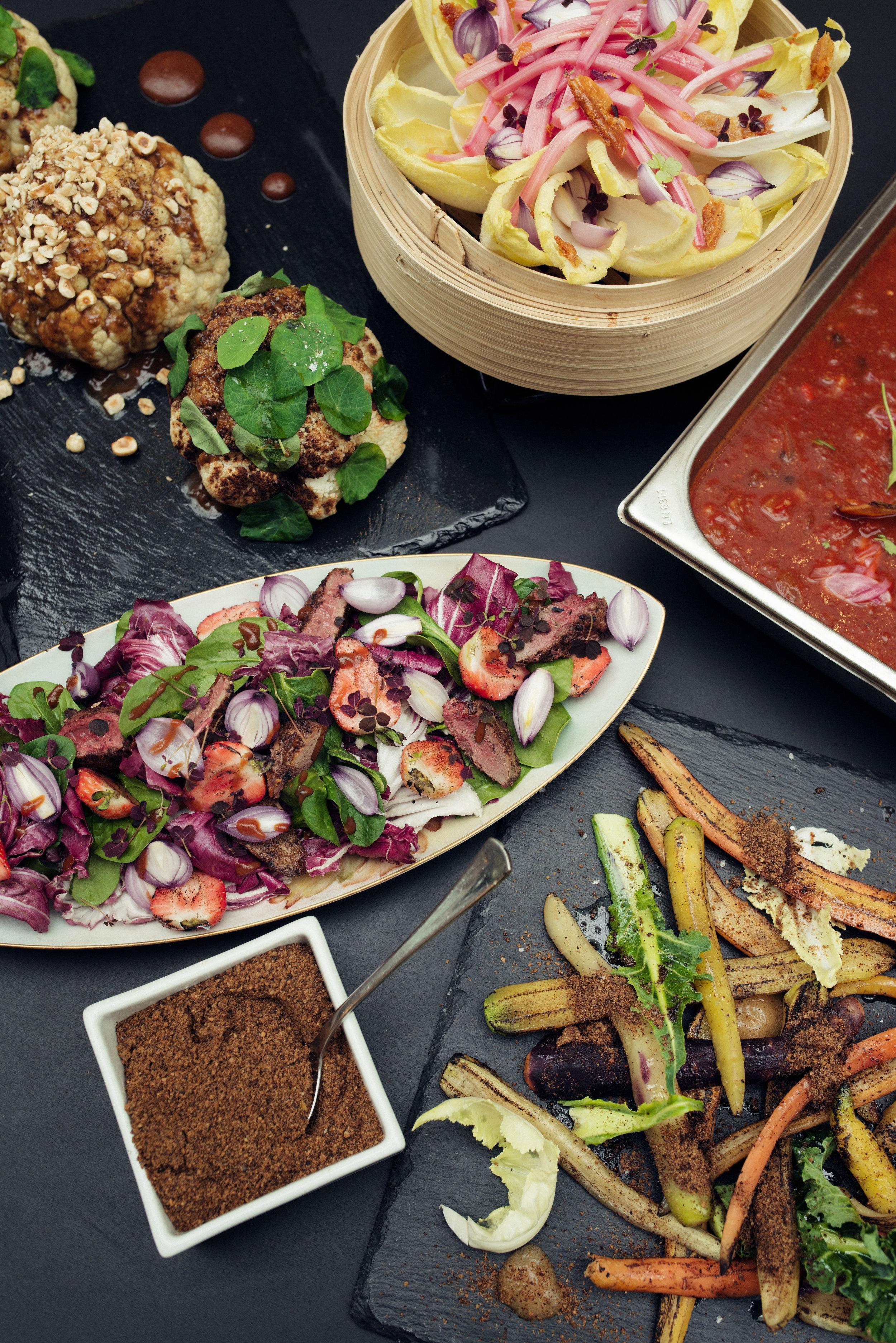 Dugurd-du godeste.kantine-økologisk-lunsj-restaurant-variasjon