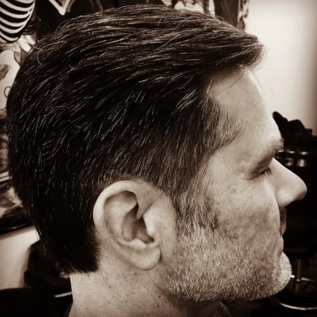 Men's Hair Cut  Hairbabestudio.com  Best Hair Salon Asheville, NC