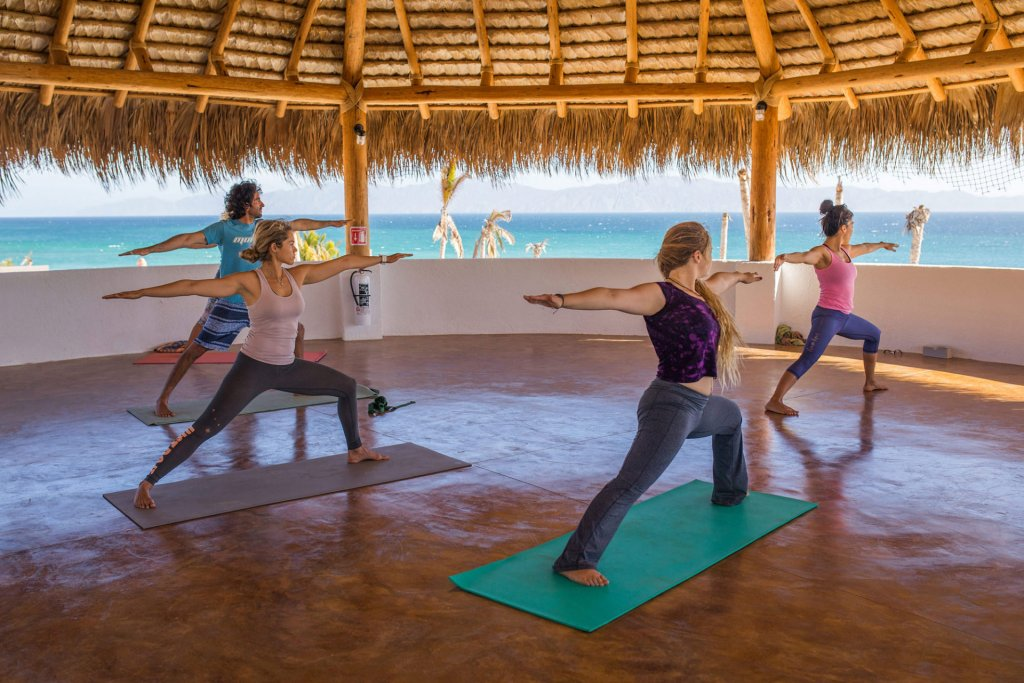 wake up with Yoga - Wake up with yoga and pranayama every morning overlooking the Pacific Ocean