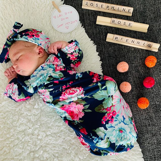 My sweet Josephine Rose was born over 3 weeks ago. She is pure joy and I never knew how much capacity for love existed until she entered this world. Broke my heart wide open. ❤️ . Wild blessings, Xo, -Alyssa
