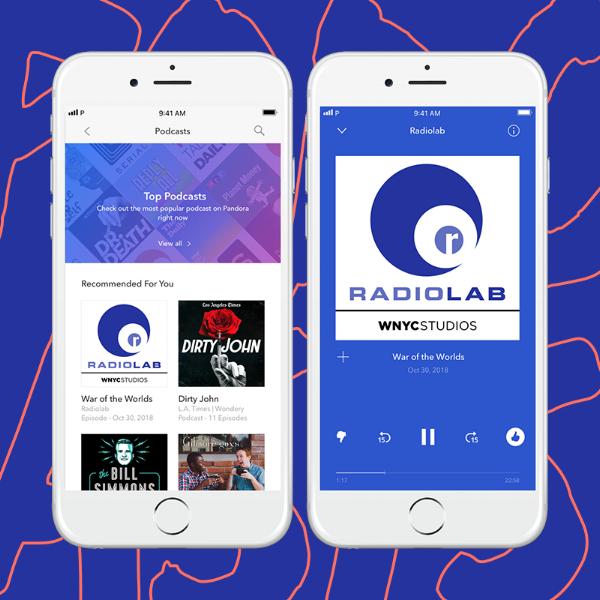 Introducing Podcasts on Pandora! — AMP Playbook