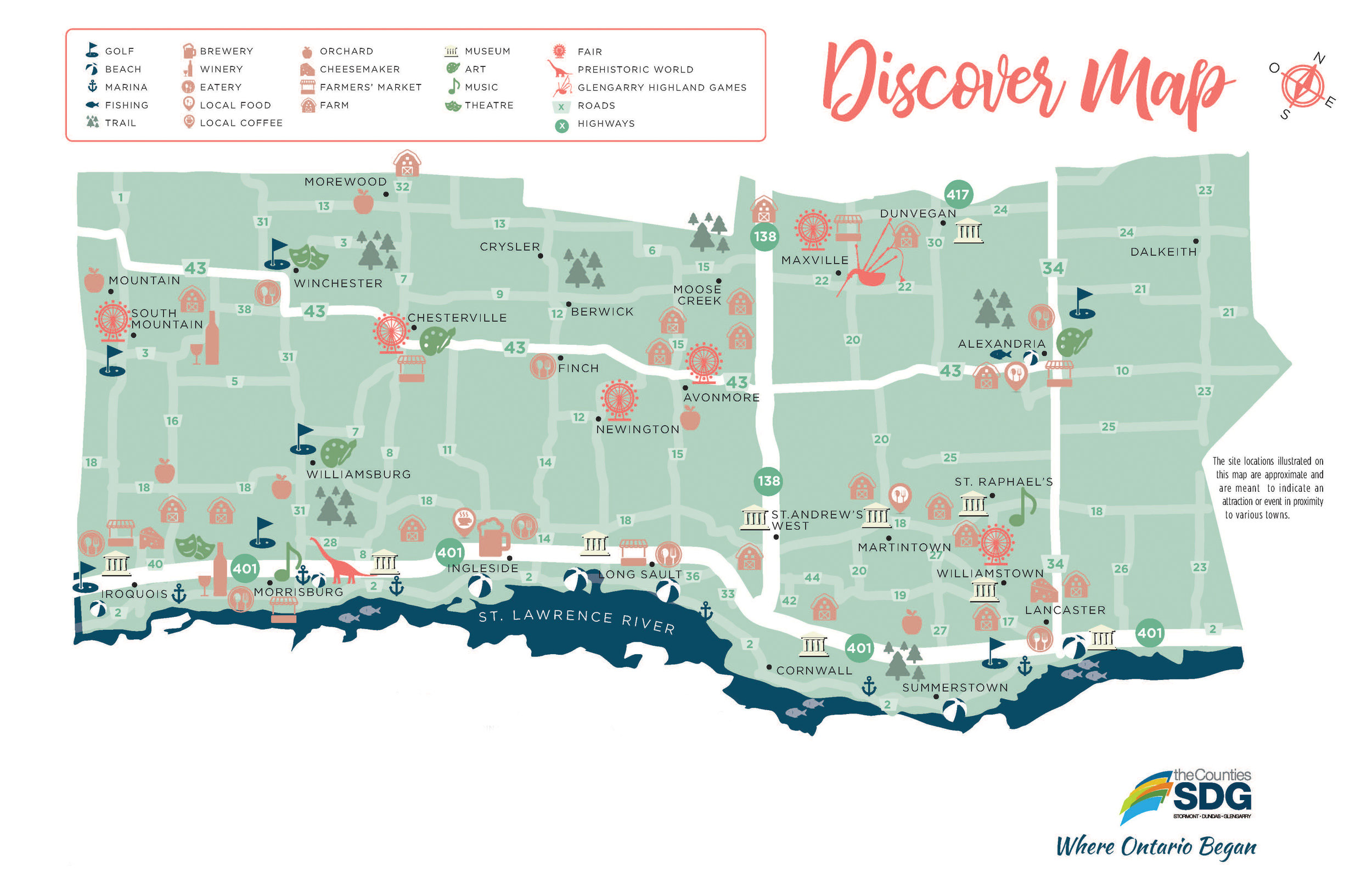 Download the Discover Map today!