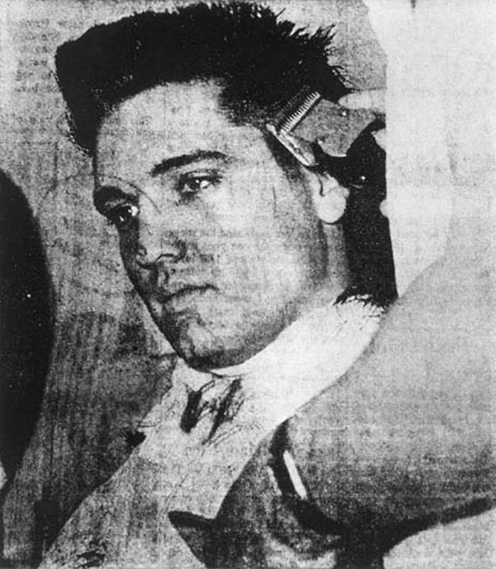 Clipped (Elvis Getting a Haircut)