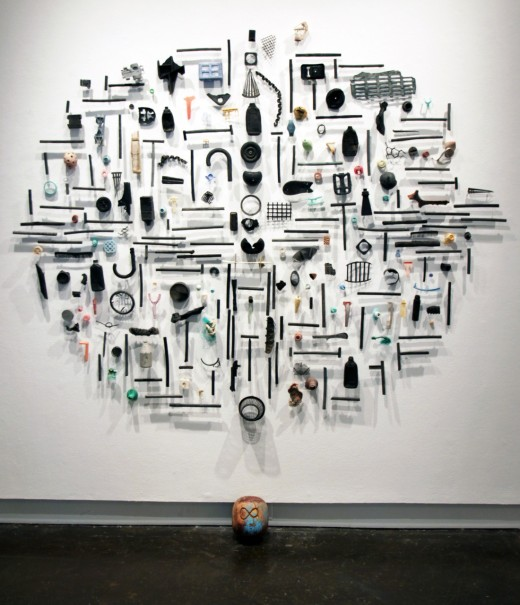 Ghosts-of-Consumption-by-Pam-Longobardi-2012-found-ocean-plastic-steel-pins-silicone-e1363299069102.jpg