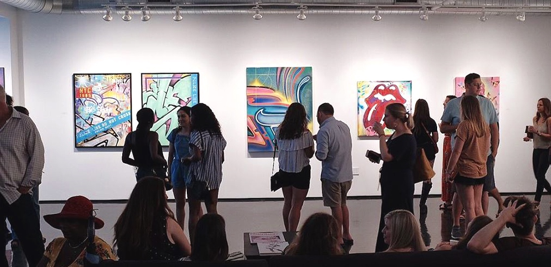 'Street Cred' Opening, First Saturday Art Crawl, 2019