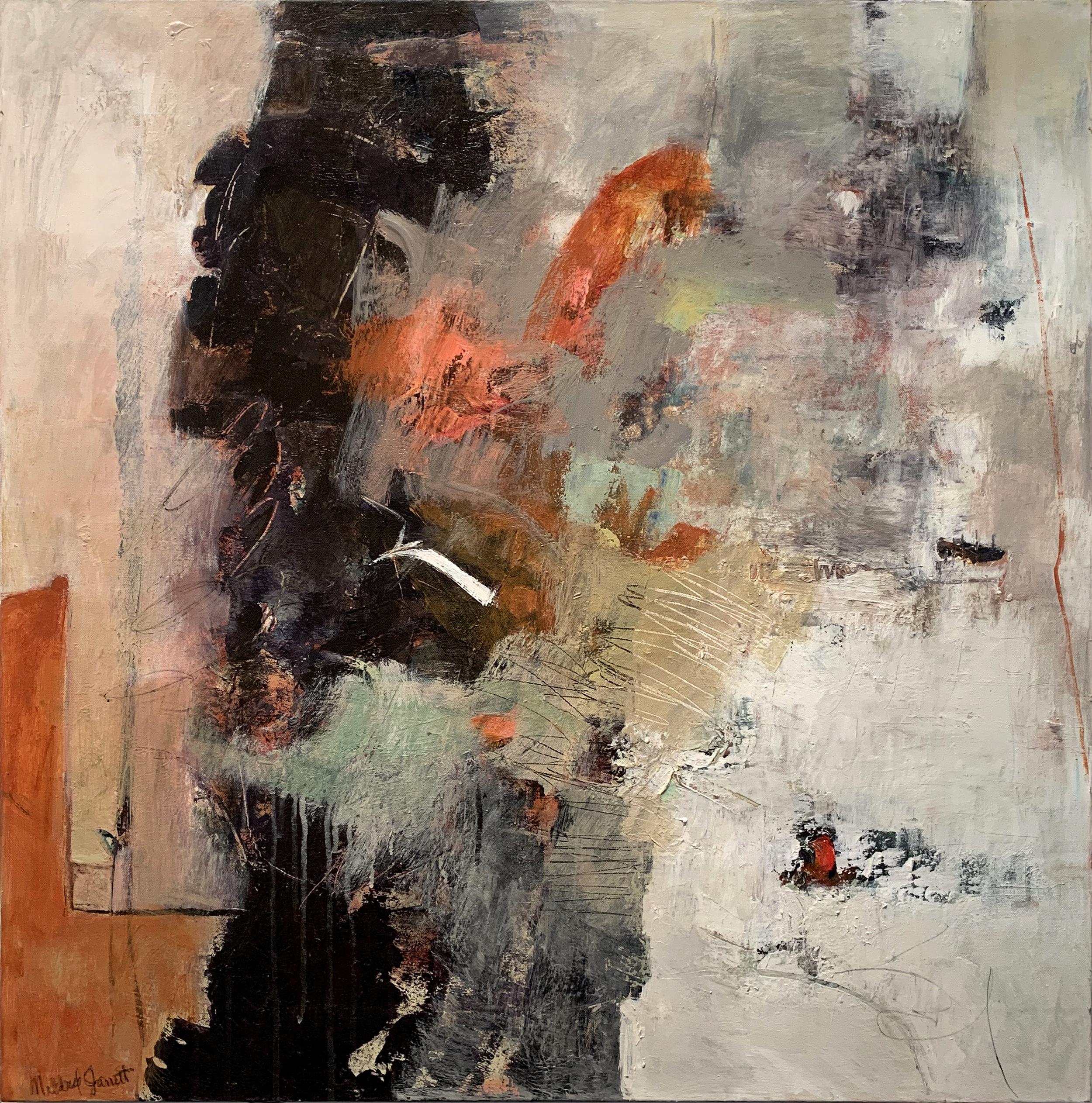 Mildred Jarrett Suspirations of Order Oil on canvas 36 x 36