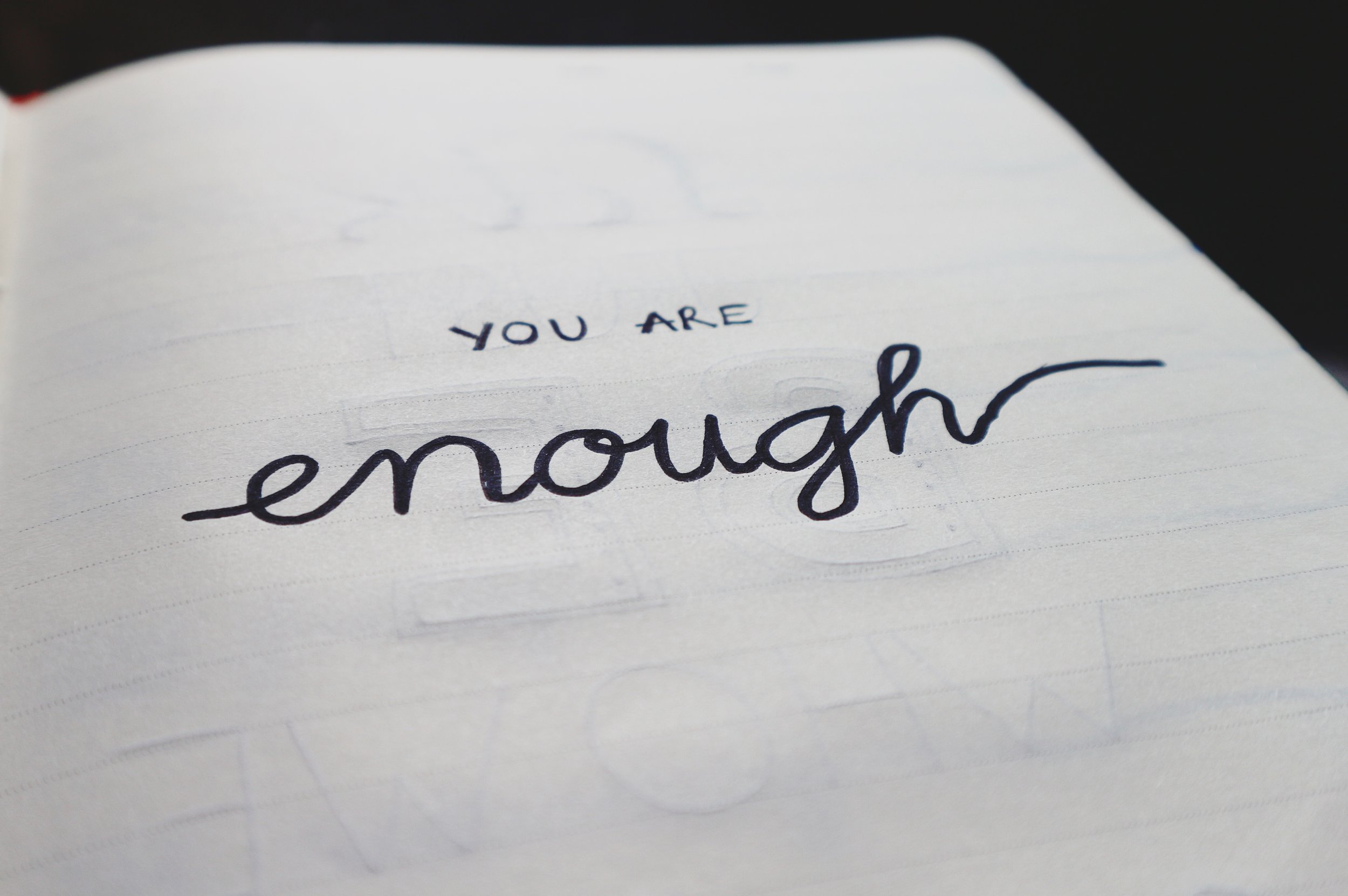 Website You are enough .jpeg