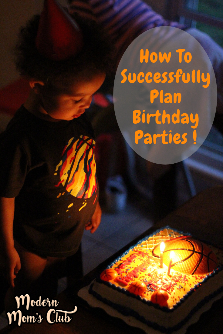How To Successfully Plan Birthday Parties