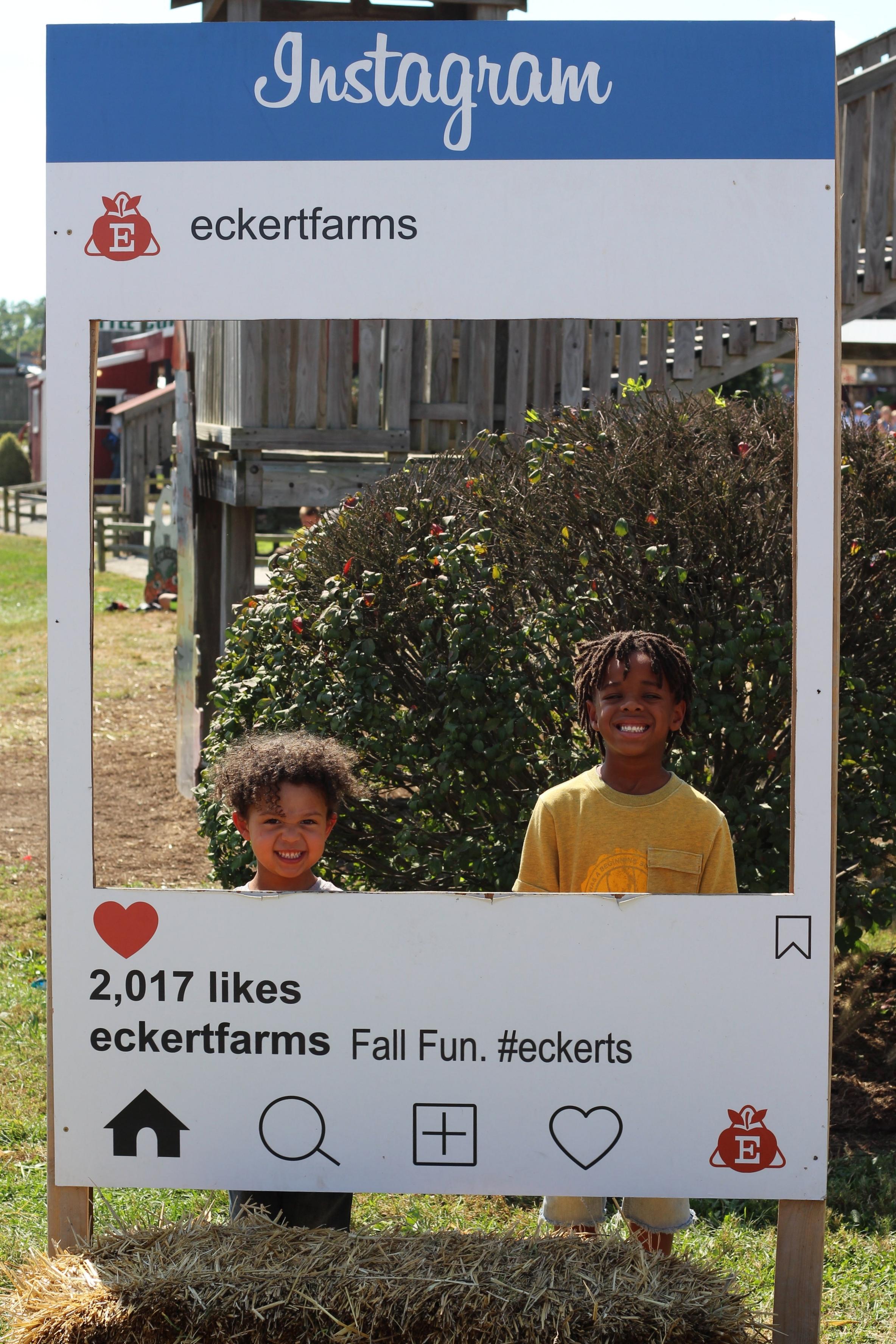 eckert's farm.