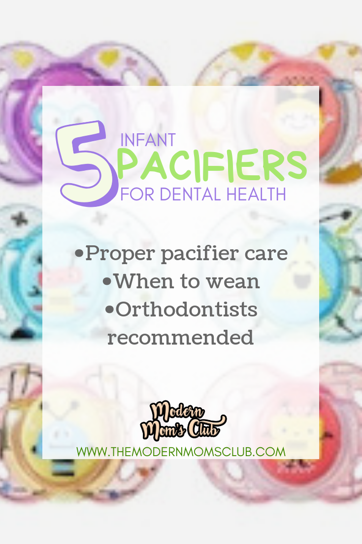 5 infant pacifiers for dental health #pacifiers #infant #dentalcare